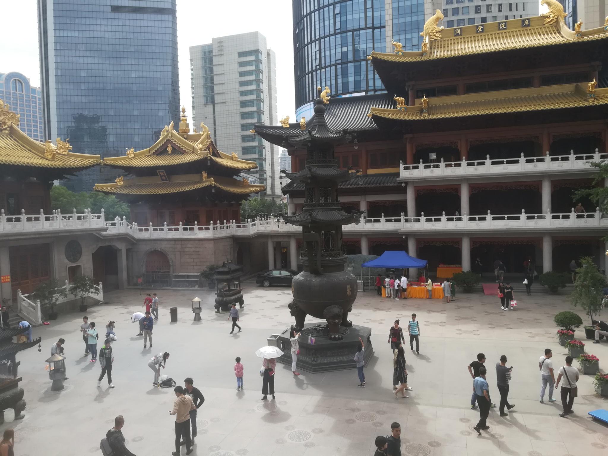 Ying An Tempel Innenhof