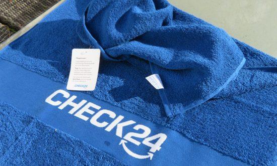 Das Badehandtuch von Check24